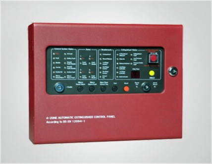 CM1004 AUTOMATIC EXTINGUISHER CONTROL PANEL